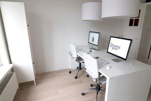 la decoracin minimalista en la oficina - Decoracion Minimalista
